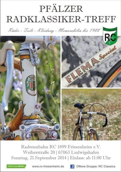 2. Pfälzer Radklassiker-Treff des 1899 RC Friesenheim @ Mannheim   Baden-Württemberg   Deutschland