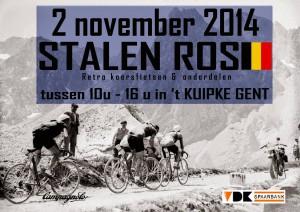 STALEN ROS BELGIË - Retro Wielerbeurs @ Radrennbahn 't Kuipke | Gent | Flanders | Belgien