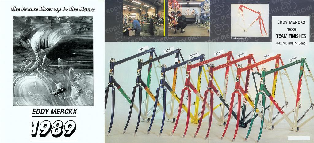 EddyMerckx1989-teams