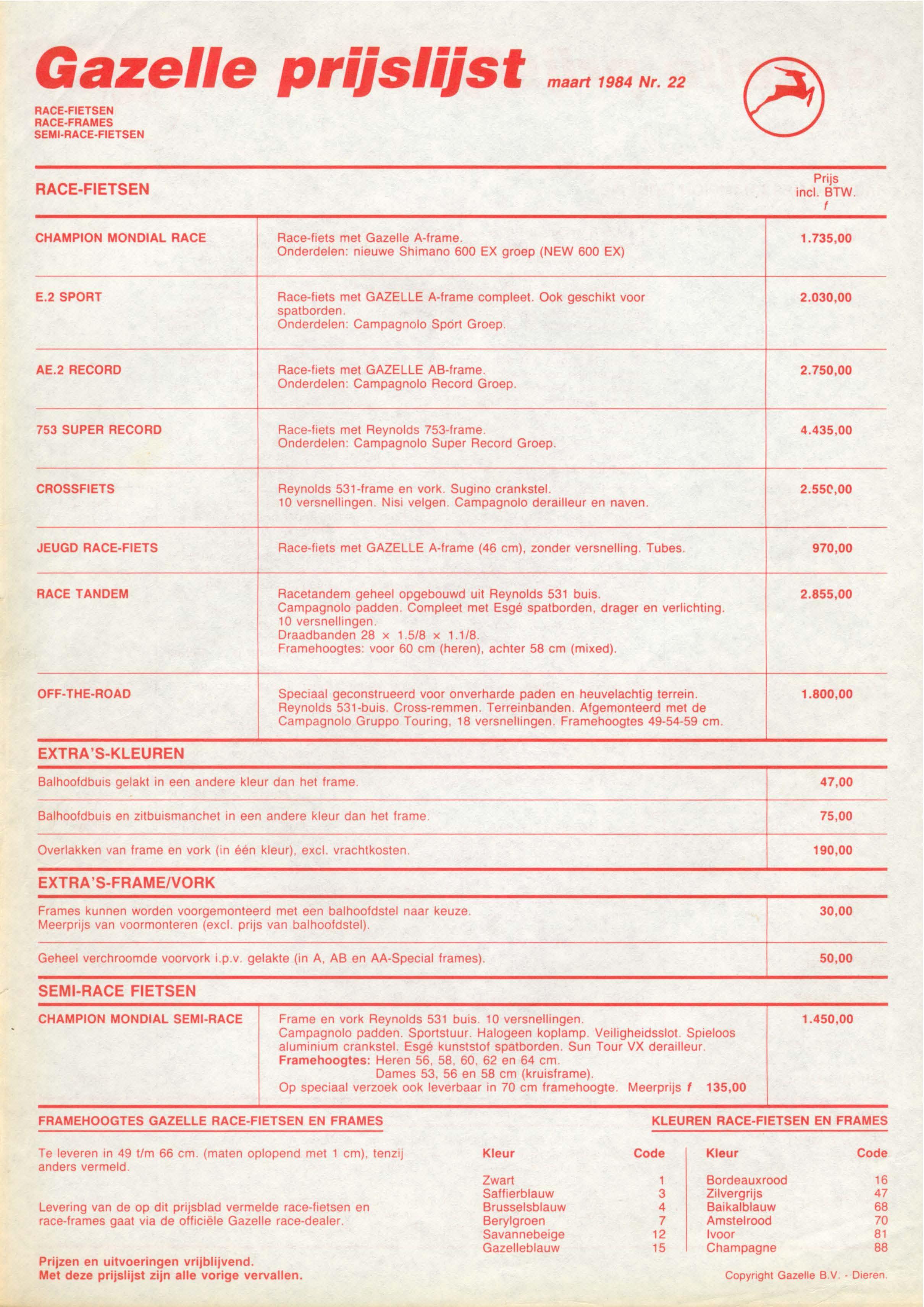 Katalogseite-Gazelle-1984-2