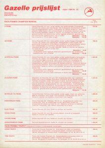Gazelle AA-Special prijslijst Seite 2